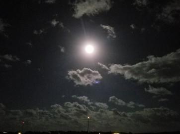 Full Moon at Anchor 31 Jan 2018