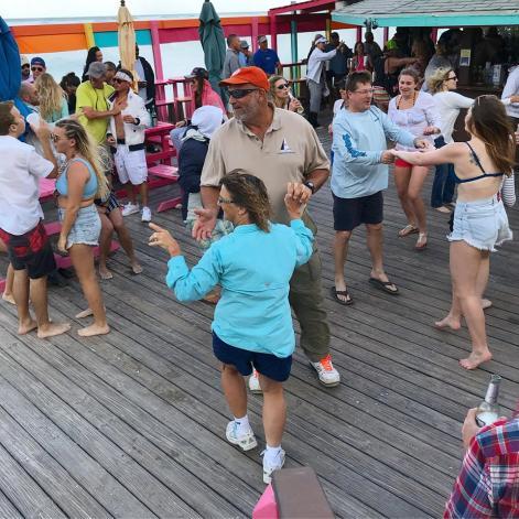 Dancing at Nippers