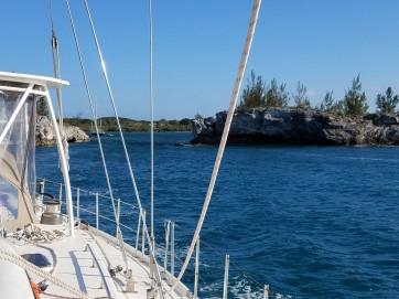 Departing Hatchet Bay