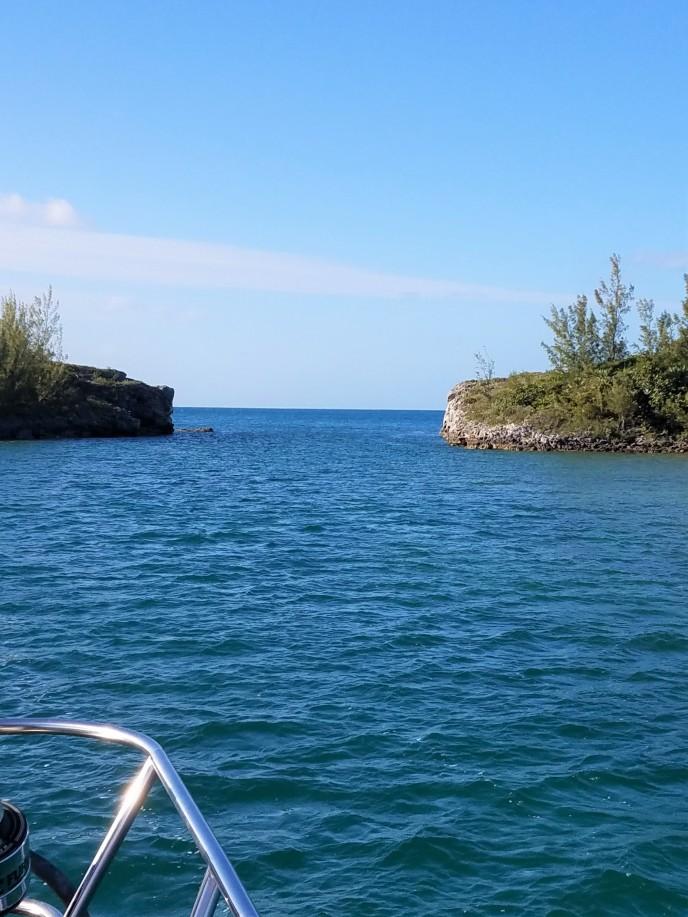 Landing zone Hatchet Bay