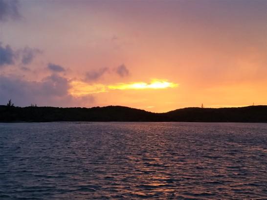 Sunset in Hatchet Bay