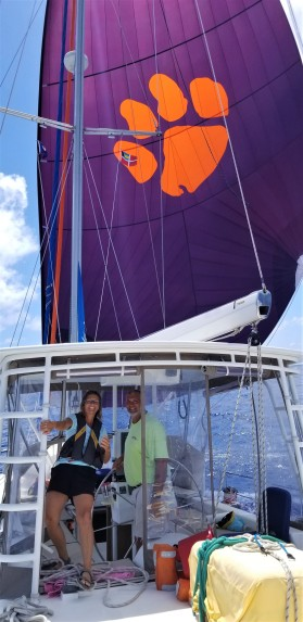 Fun with the spinnaker