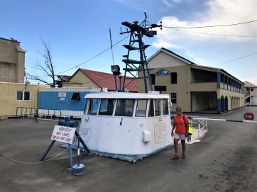 Coast Guard entrance