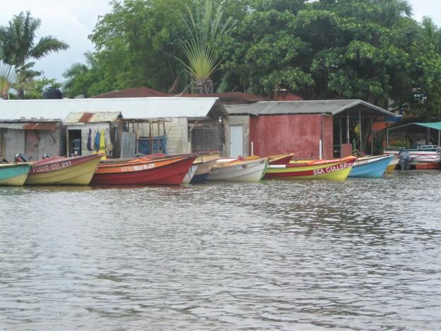 Fishing Boat Black River
