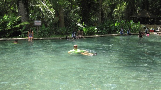 Pool at Y-S falls park