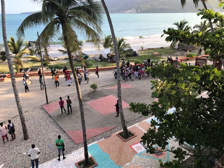 Band practice Jacmel style