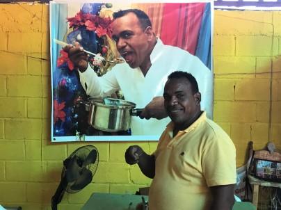 Chef George Barahona