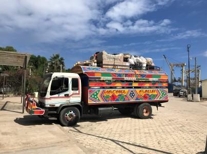 Transportation options in Haiti