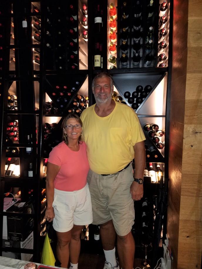 Wine cellar SBG Santo Domingo, DR