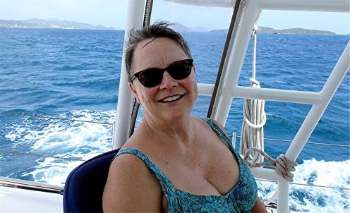 JN-24 Cathy enjoying sail to St John