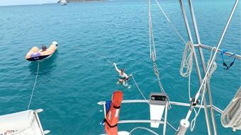 JN-24 Crew swim time St John