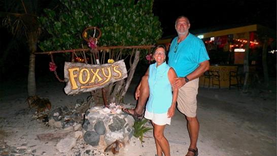 JN-25 Brian and Joyce at Foxys - Jost van Dyke