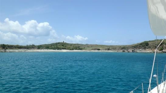 JUL-5c Scuba stop Buck Island- Mouillage Cove